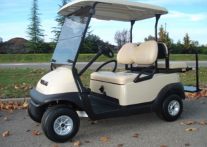 Club Car Precedent 4 passenger gas utility golf cart