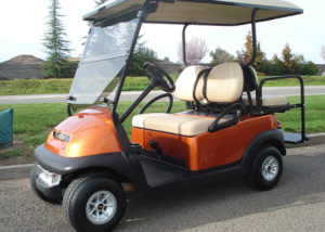 Club Car Precedent Golf Cart, sales and service, in Rocklin, CA.