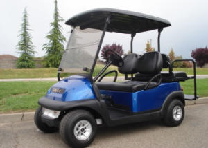 Club Car Precedent 4 passenger utility golf cart