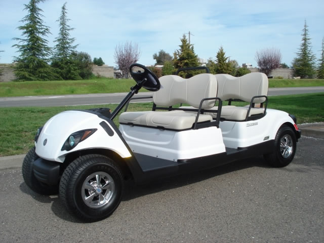 2017 Yamaha AC Concierge 4 passenger golf cart