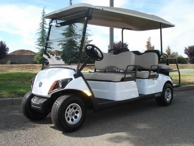 Yamaha Concierge 6 passenger utility golf cart