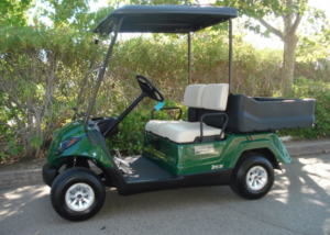 Yamaha Adventurer 1 utility golf cart