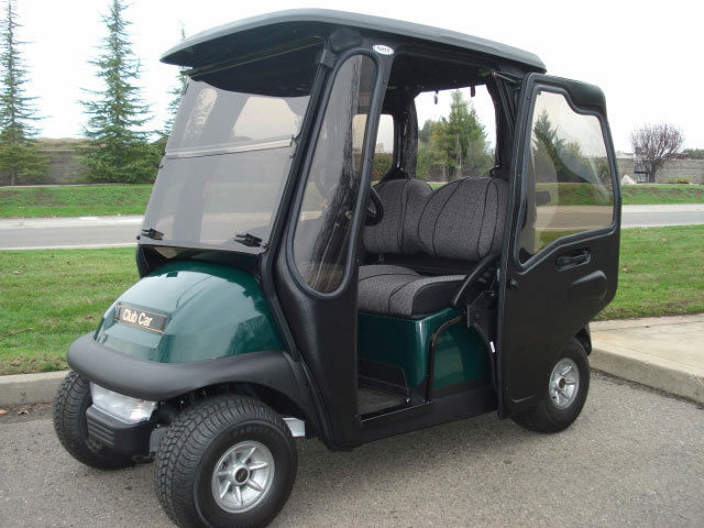 Hinged Door Golf Cart Enclosures : Golf cart enclosures gilchrist cars