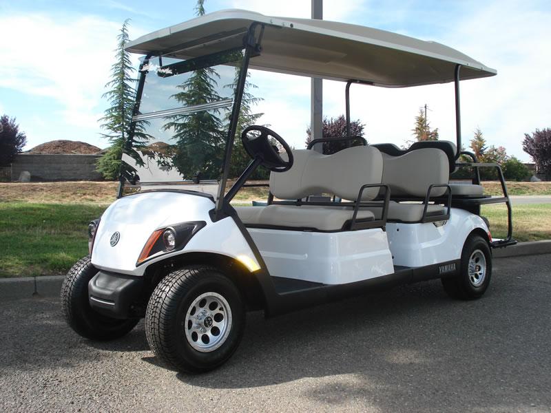 2017 Yamaha AC Concierge 4 passenger golf cart