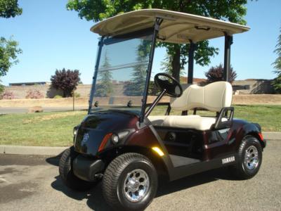2017 Yamaha AC PTV 2 passenger golf cart