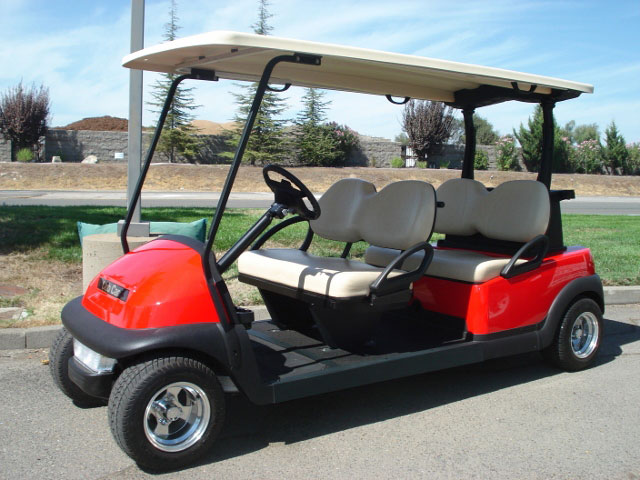 Utility and Transportation golf carts