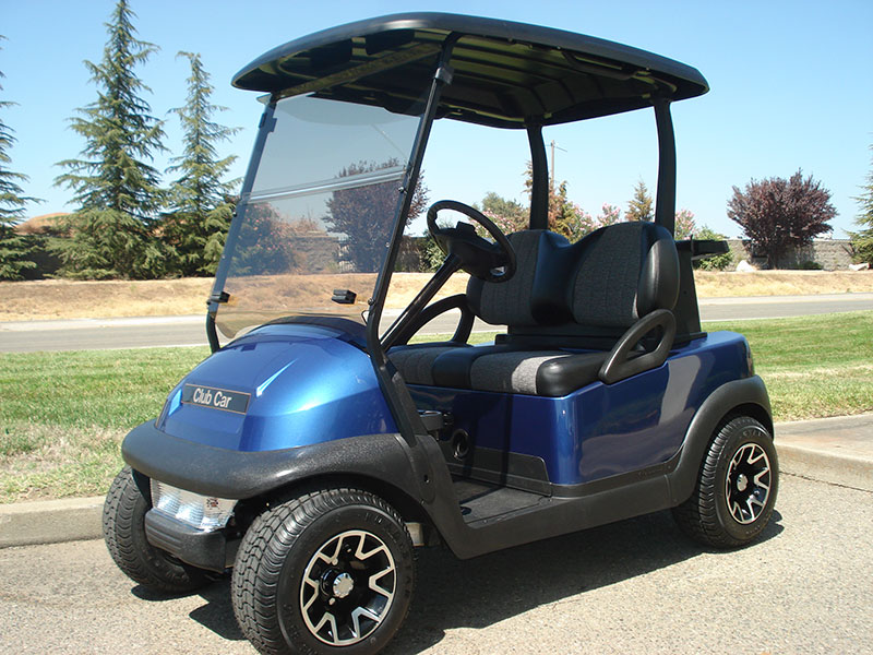 Sapphire blue color, 2-passenger, available at $6,465