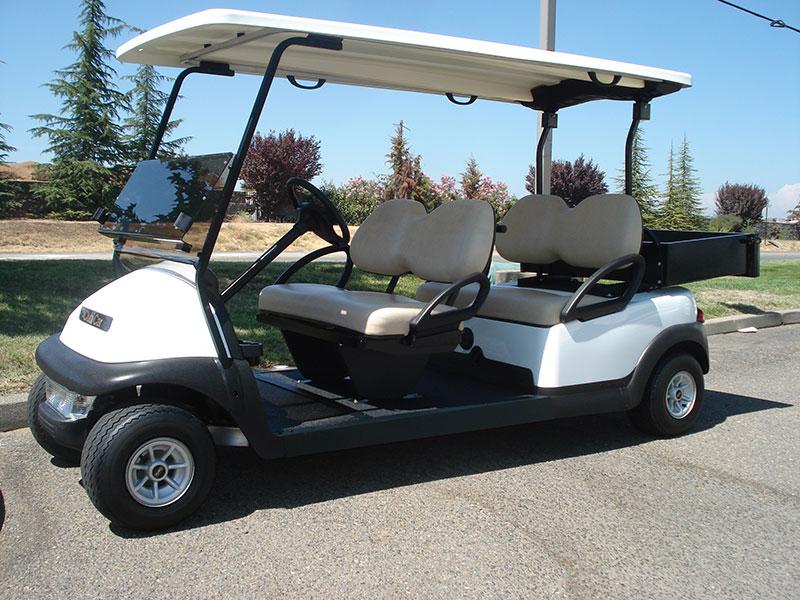 Club Car Precedent 4 Passenger With Cargo Box Gilchrist Golf Cars