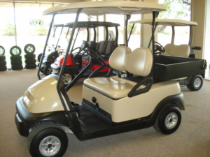 Gilchrist Golf Cars Showroom