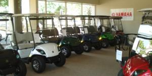 Golf cart showroom in Rocklin, CA