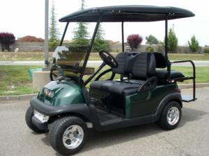 Club Car Precedent, Dark Green metallic color