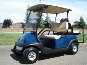 Club Car Precedent, Dark Blue color