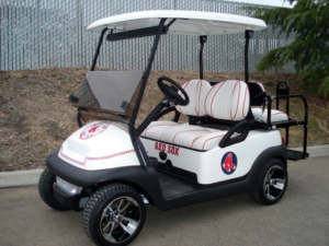 Club Car Precedent with Boston Red Sox theme
