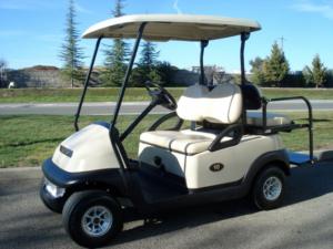 4 passenger rental golf cart