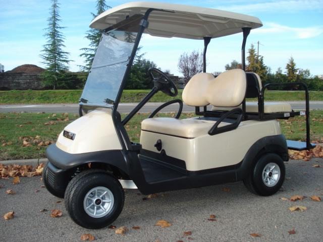 Club Car Precedent 4 passenger gas utility golf cart