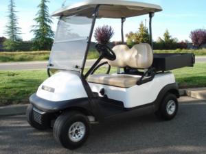 Club Car Precedent 2 passenger gas utility golf cart