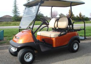 Club Car Precedent Golf Cart, sales and service, in Rocklin, CA.