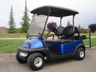 Club Car Precedent 4 passenger utility golf cart
