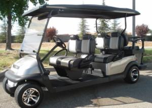 Club Car Precedent 6 passenger utility golf cart