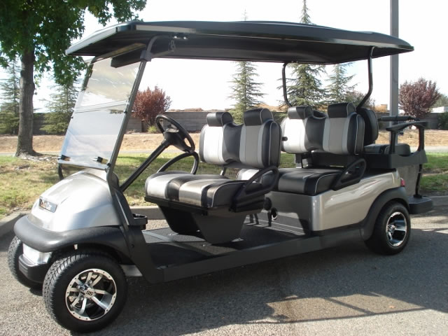 Club Car Precedent 6 passenger utility golf cart
