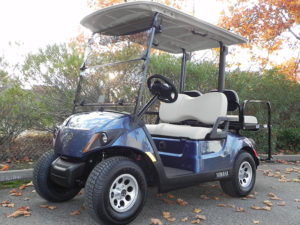 Yamaha Drive2, Bluestone metallic color, 4-passenger