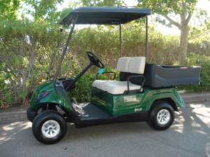 Yamaha Adventurer 1 utility golf cart
