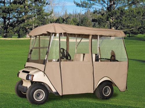 Golf Cart Enclosures | Gilchrist Golf Cars Enclosures For Club Car Ds Golf Cart on 2008 precedent club car golf cart, yamaha golf cart covers for club cart, hard covers for club car golf cart, red dot enclosures golf cart,
