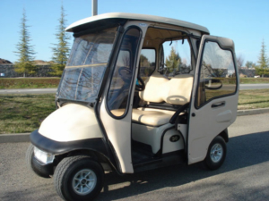 After-Market Curtis Cab Golf Cart Enclosure