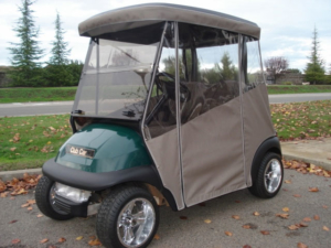Custom Sunbrella Golf Cart Enclosure