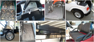 Golf Car Parts and Accessories