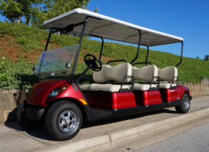 Yamaha Drive, 6-passenger all forward facing Concierge 6
