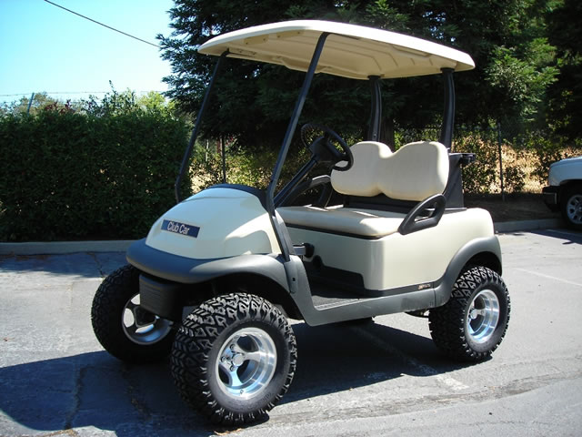 Club Car Precedent 2 Passenger With Lift Kit Gilchrist Golf Cars