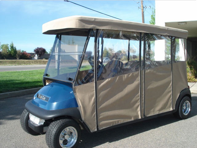 Club Car Precedent 4-Penger Forward Facing | Gilchrist Golf Cars Stretch Golf Cart Cover on courtesy cart, stretch jaguar 2014, stretch money, black cart,