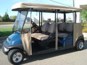 Club Car Precedent, 4-passenger forward facing