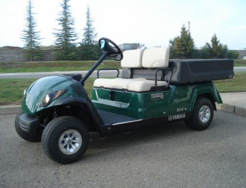 Yamaha Adventurer Two with Dump and Cargo Box