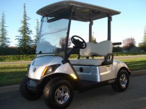 Yamaha Drive2 AC PTV 2017, 2 passenger golf cart.