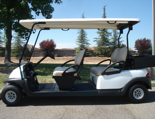 Club Car Precedent 4-Passenger with Cargo Box