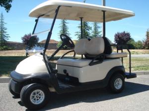 2014 Club Car Precedent, Beige color, 4-passenger, available at $4,550