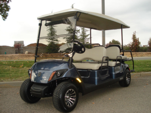 2018 Yamaha Drive2 AC Concierge, Bluestone color, 6-passenger, available at $10,600