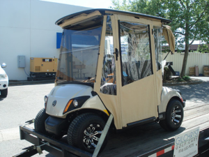 DoorWorks golf cart enclosures