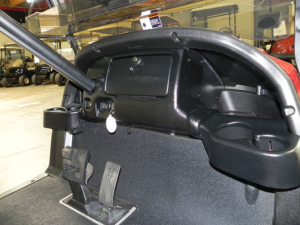 Locking Dash without Brow Cap, Black, Club Car Precedent