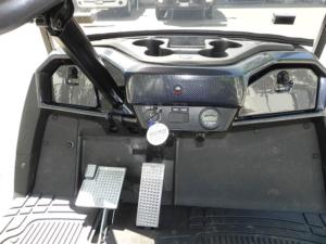 Locking Dash, Carbon Fiber, Yamaha Drive2
