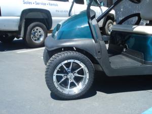 "12"" Tremor golf cart wheels"