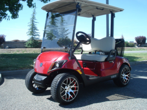Yamaha Drive2, Jasper Red metallic color