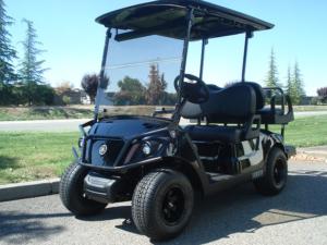 Yamaha Drive2, Onyx (Black) metallic color, 4-passenger