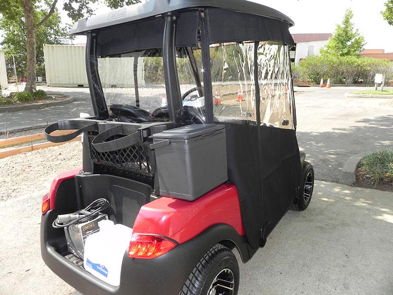 Golf Cart Enclosures   Gilchrist Golf Cars Yamaha Golf Cart Enclosures Sunbrella on golf cart convertible top, golf cart side curtains, golf cart rain curtains,