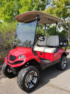 Yamaha Drive, Havoc Red body kit, Lift Kit