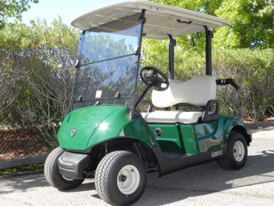 2019 Yamaha Drive2 DC, Emerald color, 2-passenger, available at $6,495