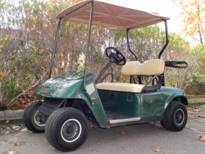 2007 EZGO, Green color, 2-passenger, available at $1,995