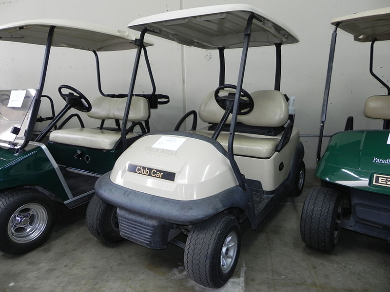 2013 Club Car Precedent, Beige color, 2-passenger, available at $1,750